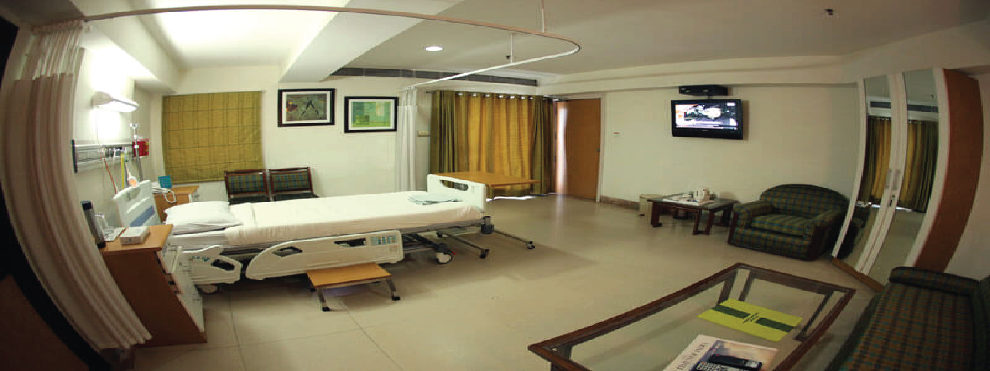 Apollo Hospital Patient Room